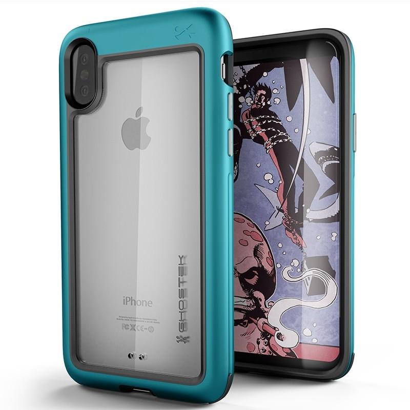 Ghostek Atomic Slim Case iPhone X/Xs TEAL 01