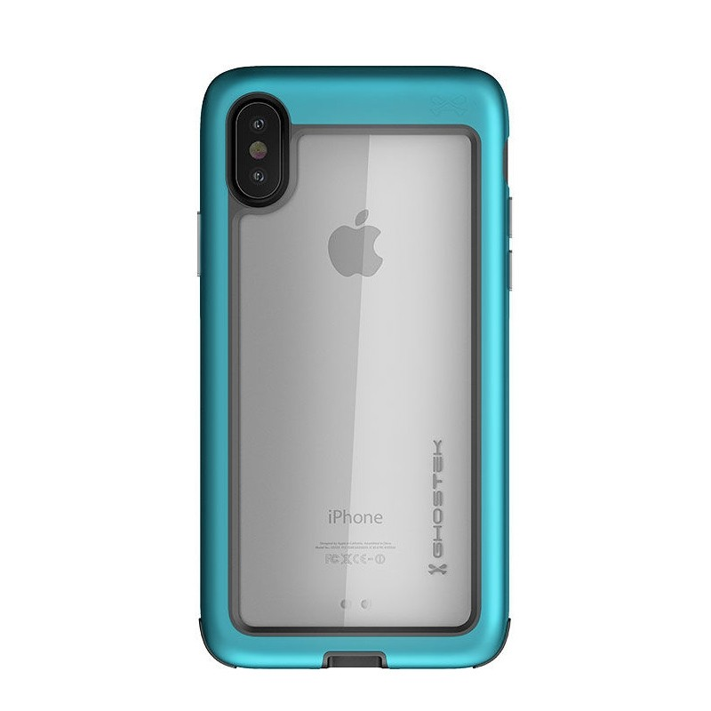 Ghostek Atomic Slim Case iPhone X/Xs TEAL 011