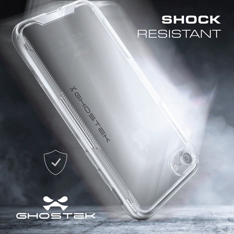 Ghostek - Cloak 3 iPhone 8/7 Hoesje silver/clear 07