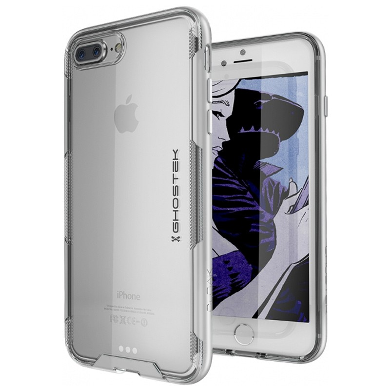 Ghostek Cloak 3 iPhone 8 Plus/7 Plus zilver 01
