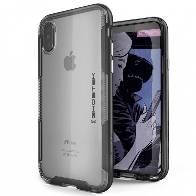 Ghostek Cloak 3 Case iPhone X/Xs zwart 01