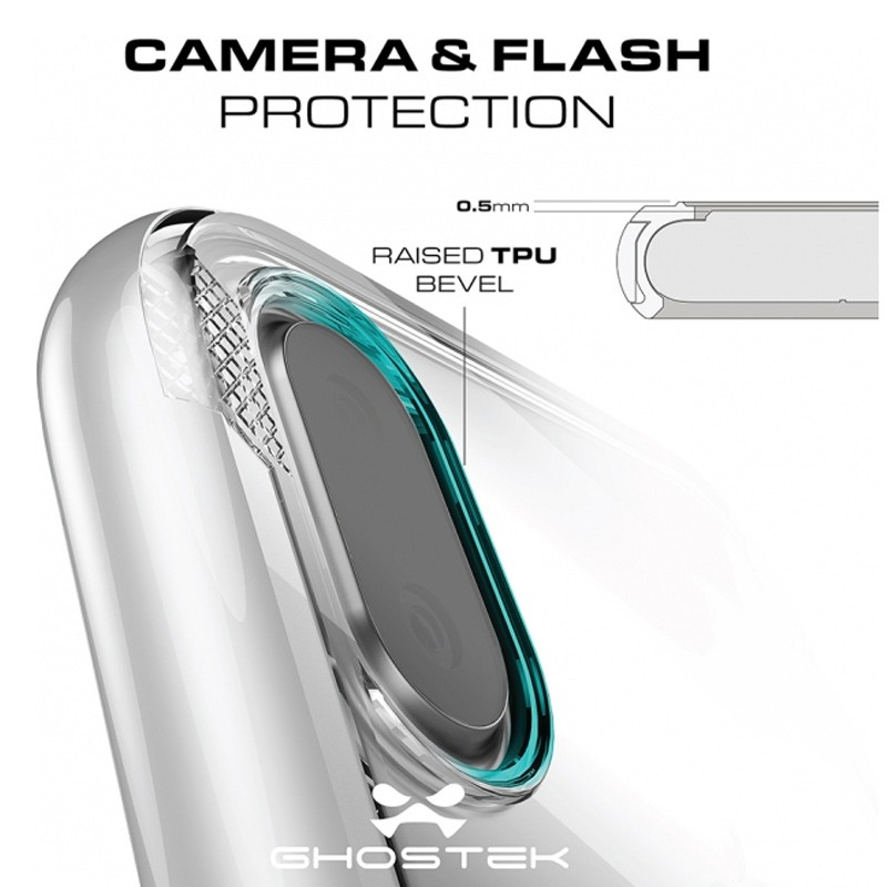 Ghostek Cloak 3 Case iPhone X/Xs zilver 07