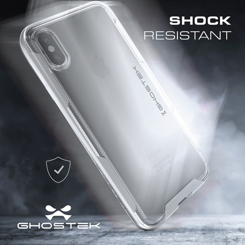 Ghostek Cloak 3 Case iPhone X/Xs zilver 08
