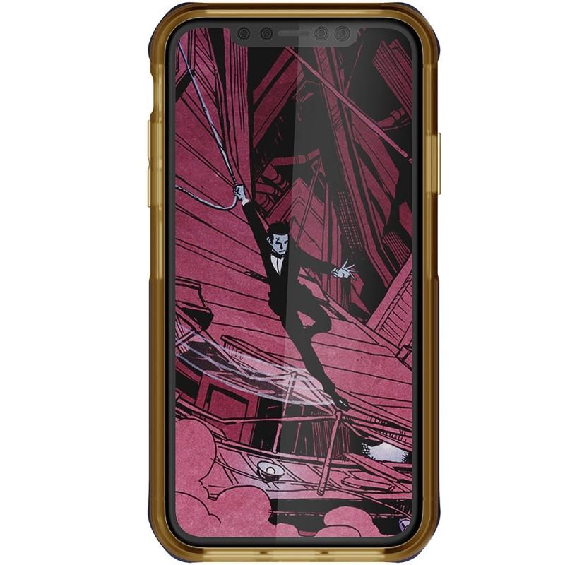 Ghostek Cloak 4 iPhone XR Hoesje Blauw/Goud - 3