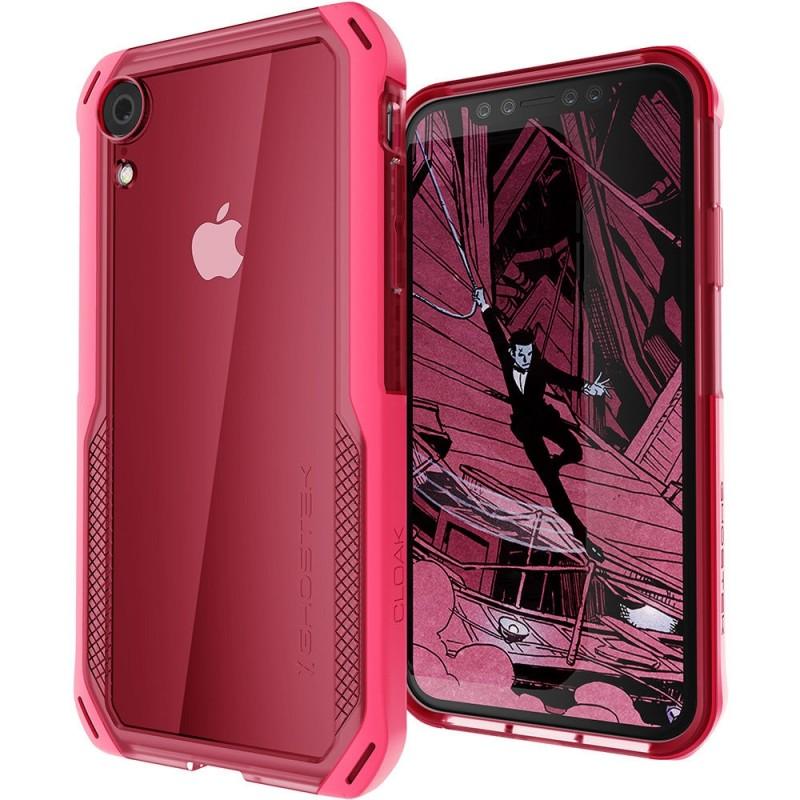 Ghostek Cloak 4 iPhone XR Hoesje Roze/Transparant - 1