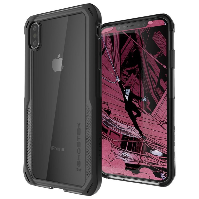 Ghostek Cloak 4 iPhone XS Max Zwart - 1