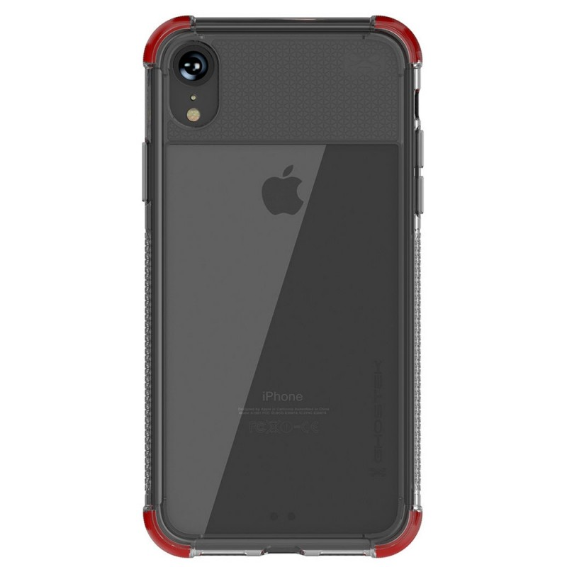 Gostek Cover 2 iPhone XR Rood/Transparant - 2