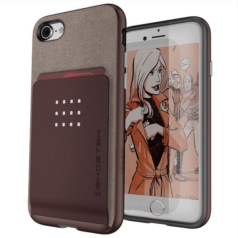 Ghostek Exec 2 Protetive Wallet iPhone 8/7 Bruin 1
