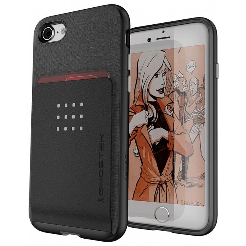 Ghostek Exec 2 Protetive Wallet iPhone 8/7 Zwart 01