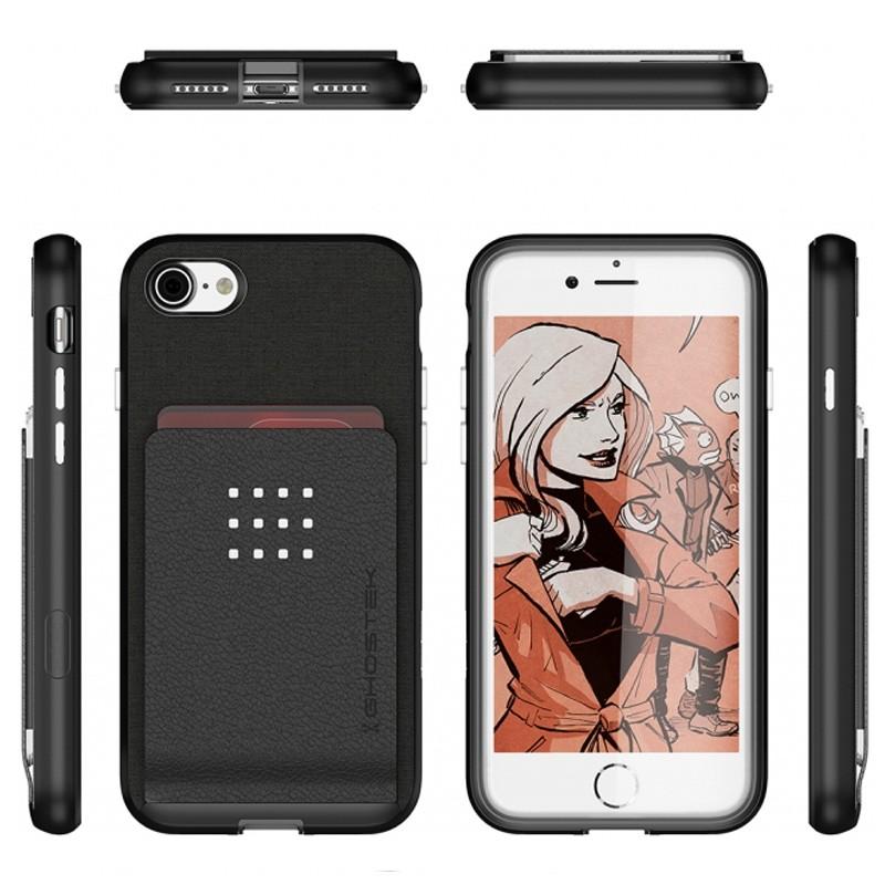 Ghostek Exec 2 Protetive Wallet iPhone 8/7 Zwart 02