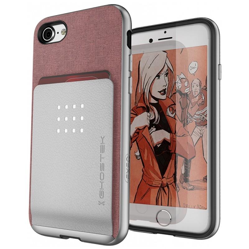 Ghostek Exec 2 Protetive Wallet iPhone 8/7 Roze 01