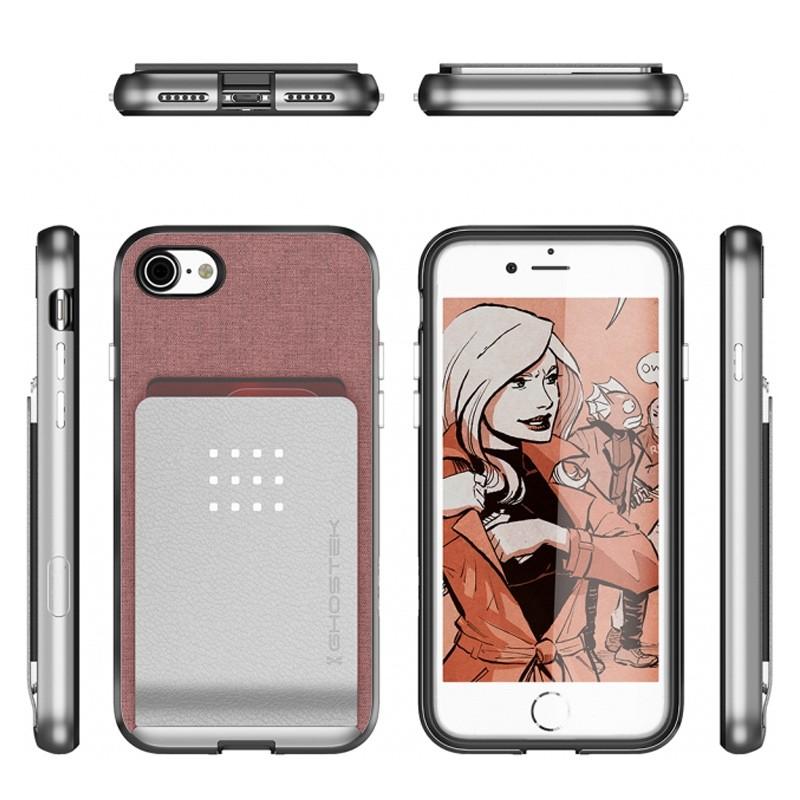 Ghostek Exec 2 Protetive Wallet iPhone 8/7 Roze 02