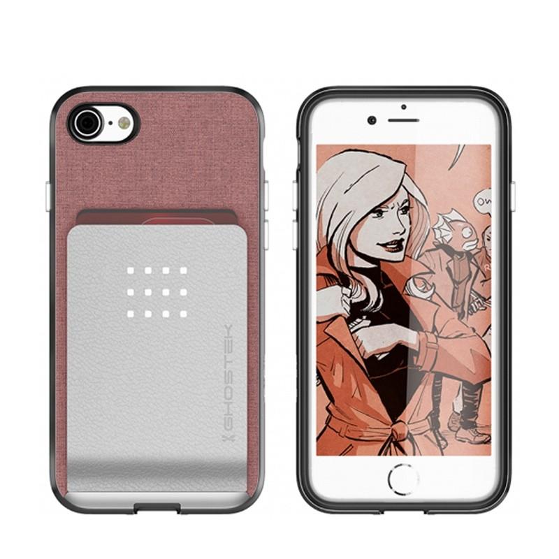 Ghostek Exec 2 Protetive Wallet iPhone 8/7 Roze 03