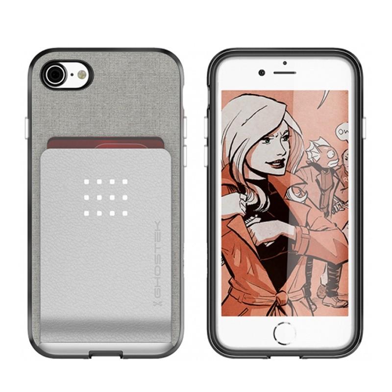Ghostek Exec 2 Protetive Wallet iPhone 8/7 Zilver 03