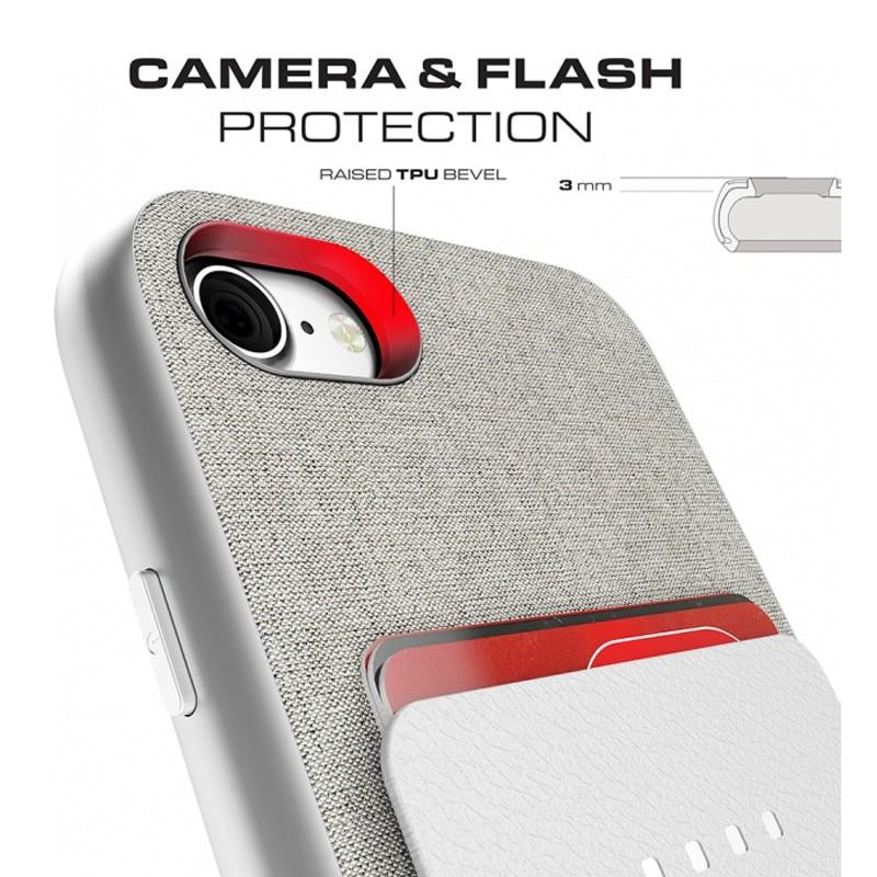 Ghostek Exec 2 Protetive Wallet iPhone 8/7 Zilver 07