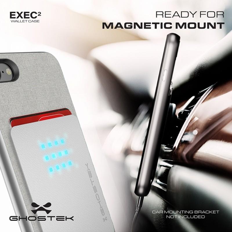 Ghostek Exec 2 Protetive Wallet iPhone 8/7 Zilver 09