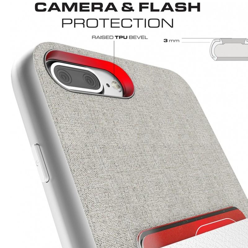 Ghostek Exec 2 Wallet Case iPhone 8 Plus/7 Plus Zilver 09