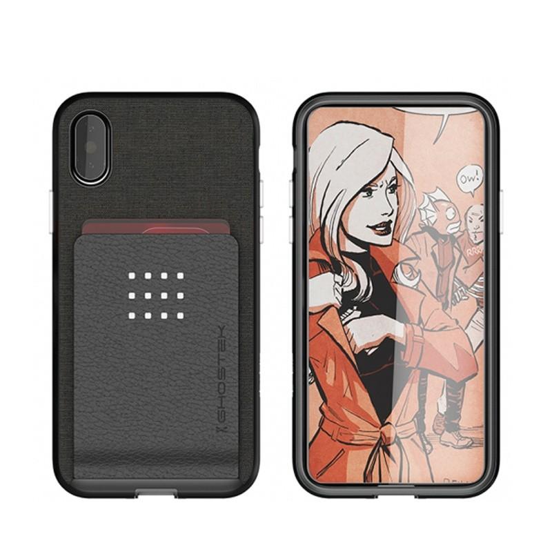 Ghostek Exec 2 Wallet Case iPhone X/Xs zwart 03