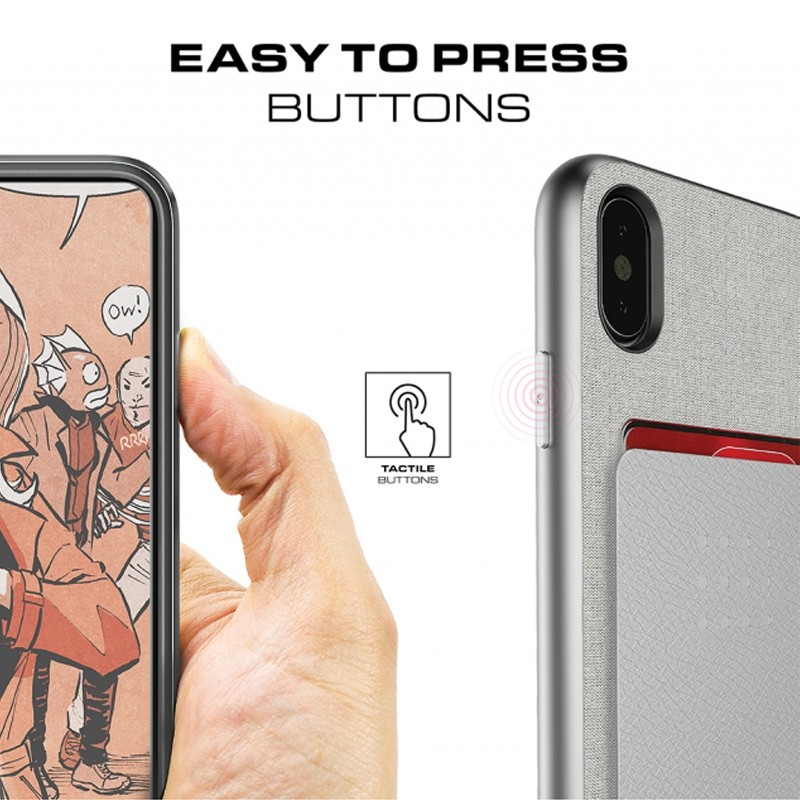 Ghostek Exec 2 Wallet Case iPhone X/Xs BRUIN 07