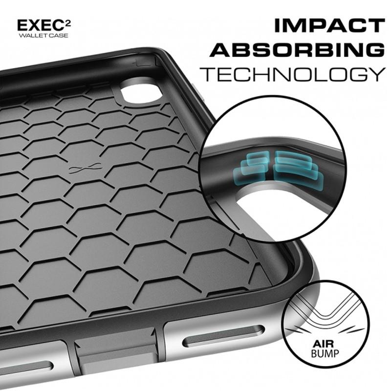 Ghostek Exec 2 Wallet Case iPhone X/Xs ROOD 08