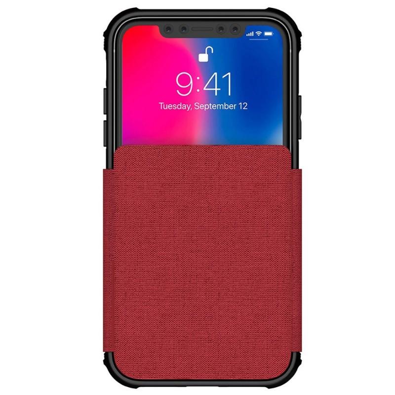 Ghostek Exec 2 iPhone XR Wallet Rood/Transparant - 2