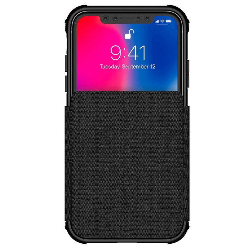 Ghostek Exec 2 iPhone XR Wallet Zwart/Transparant - 2