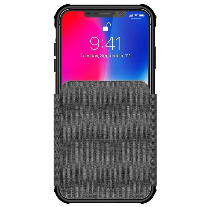 Ghostek Exec 3 Wallet iPhone XS Max Grijs - 2