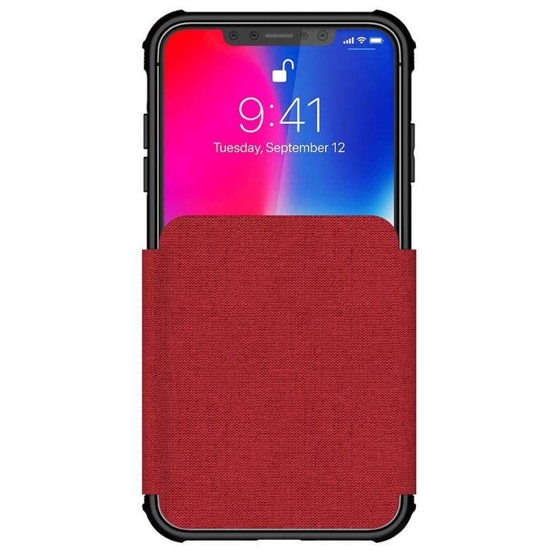 Ghostek Exec 3 Wallet iPhone XS Max Rood - 2