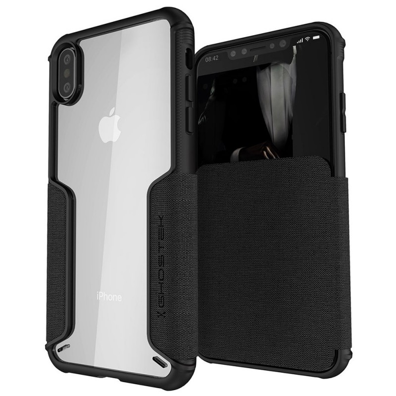 Ghostek Exec 3 Wallet iPhone XS Max Zwart - 1