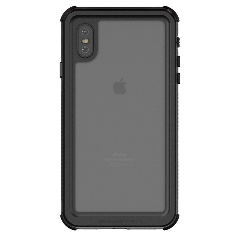 Ghostek Nautical 2 iPhone XS Max Zwart/Groen - 2