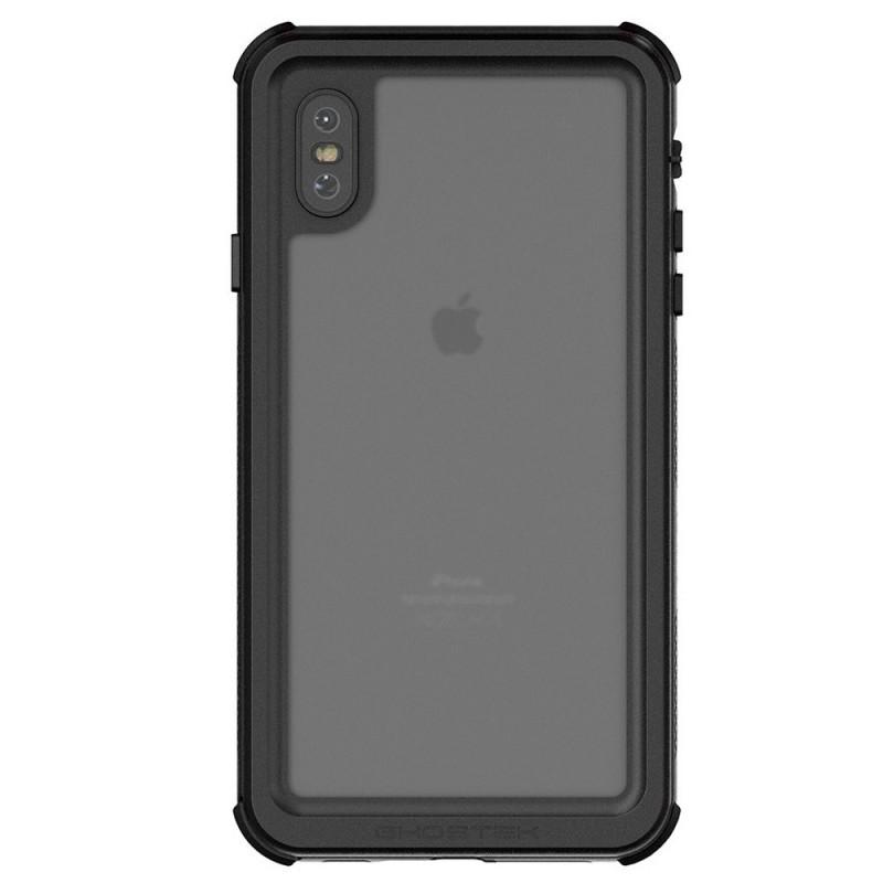 Ghostek Nautical 2 iPhone XS Max Zwart/Rood - 2