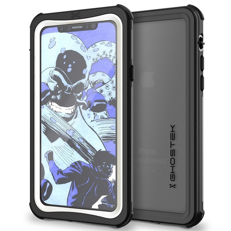 Ghostek Nautical Waterdicht iPhone X/Xs hoesje Wit 01
