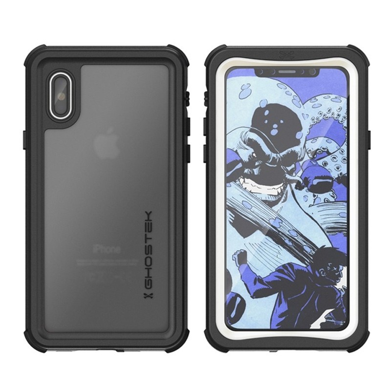 Ghostek Nautical Waterdicht iPhone X/Xs hoesje Wit 03