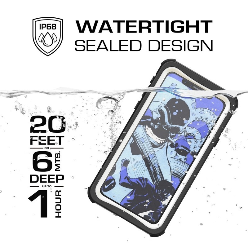 Ghostek Nautical Waterdicht iPhone X/Xs hoesje Wit 09