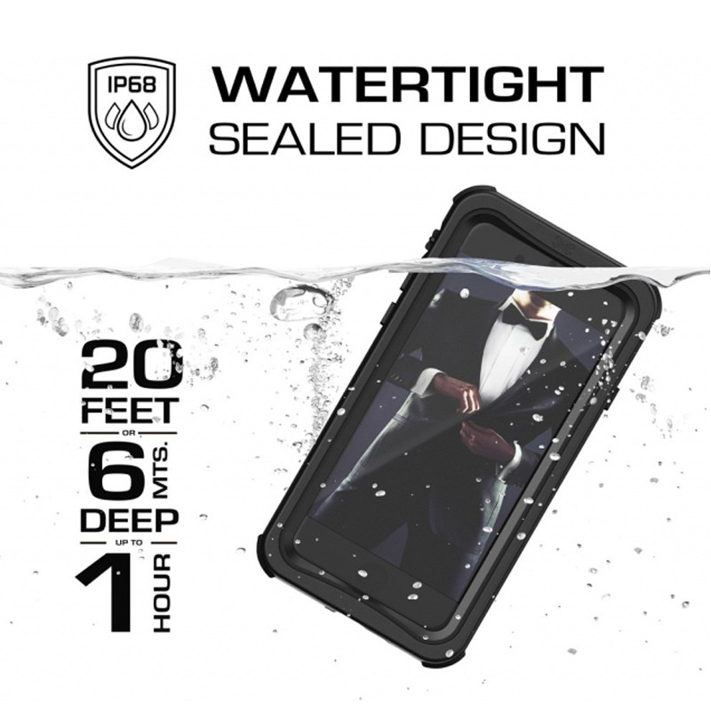 Ghostek - Nautical v2 Waterdicht iPhone 8/7 hoesje Zwart 09
