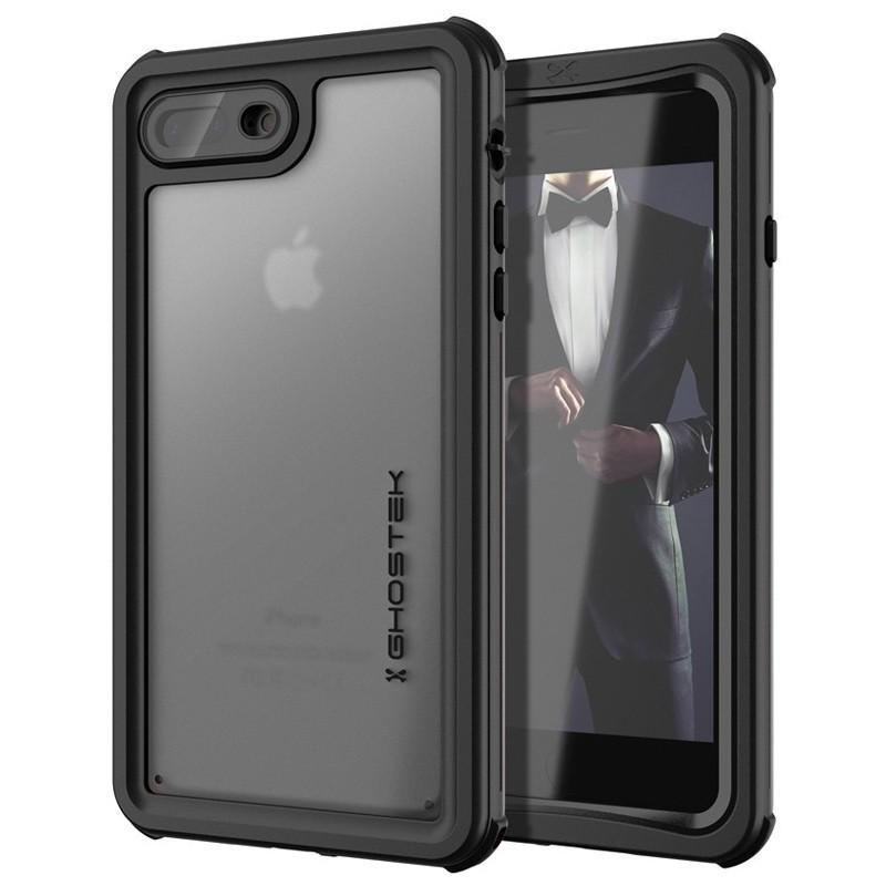 Ghostek Nautical v2 Waterdicht iPhone 8 Plus/7 Plus hoesje Zwart 01
