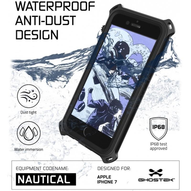 Ghostek - Nautical Waterdicht iPhone 7 hoesje Black 05