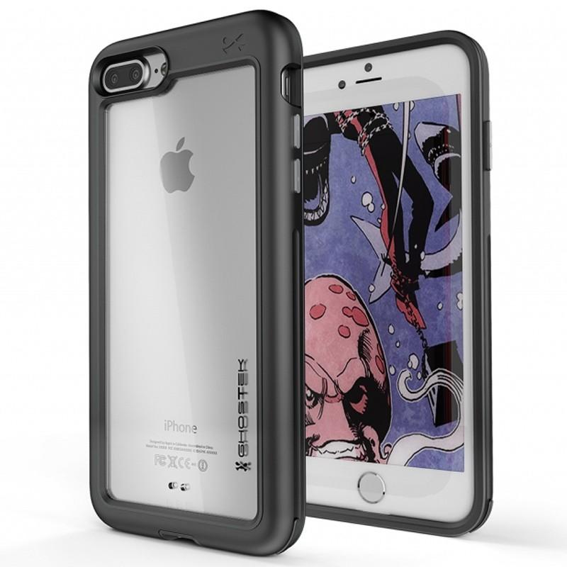 Ghostek - Atomic Slim Case iPhone 8 Plus/7 Plus zwart 01