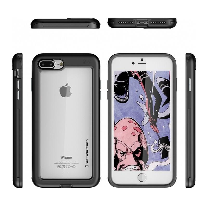 Ghostek - Atomic Slim Case iPhone 8 Plus/7 Plus zwart 02