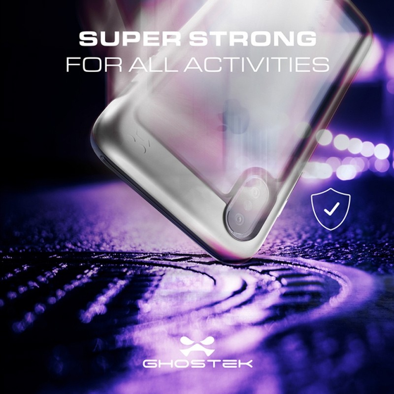 Ghostek Atomic Slim Case iPhone X/Xs Zilver 07