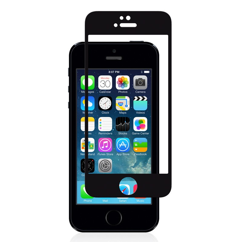 Moshi iVisor Glass iPhone 5/5S/5C Black - 1