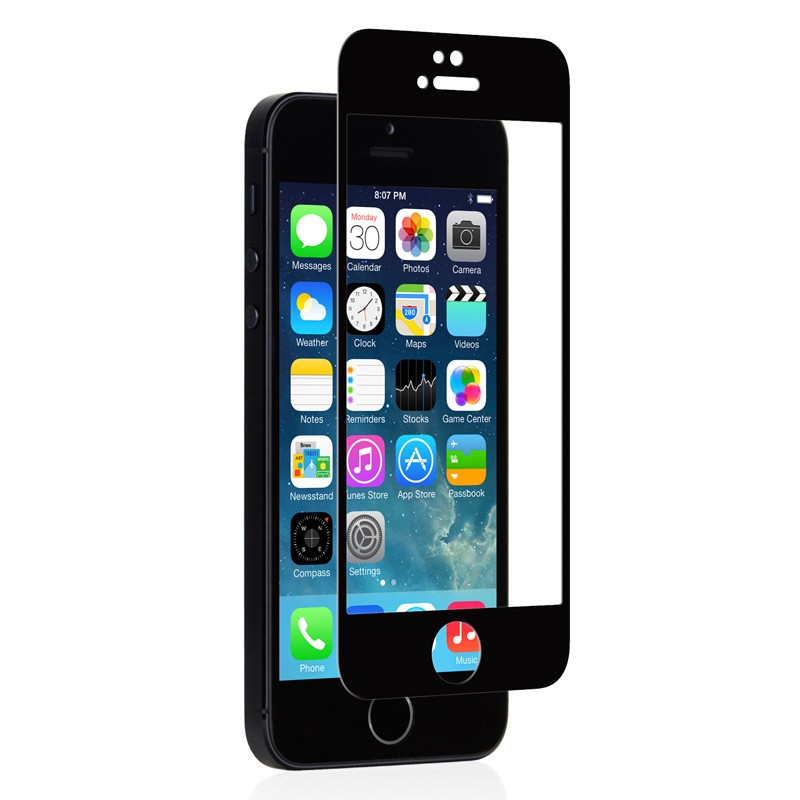 Moshi iVisor Glass iPhone 5/5S/5C Black - 2