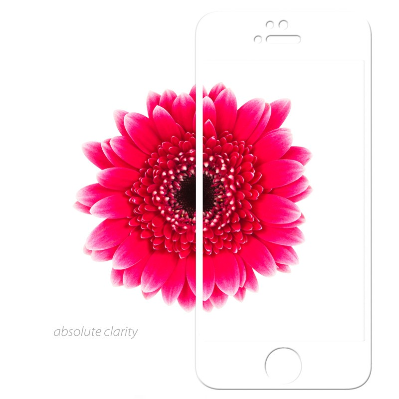 Moshi iVisor Glass iPhone 5/5S/5C White - 3