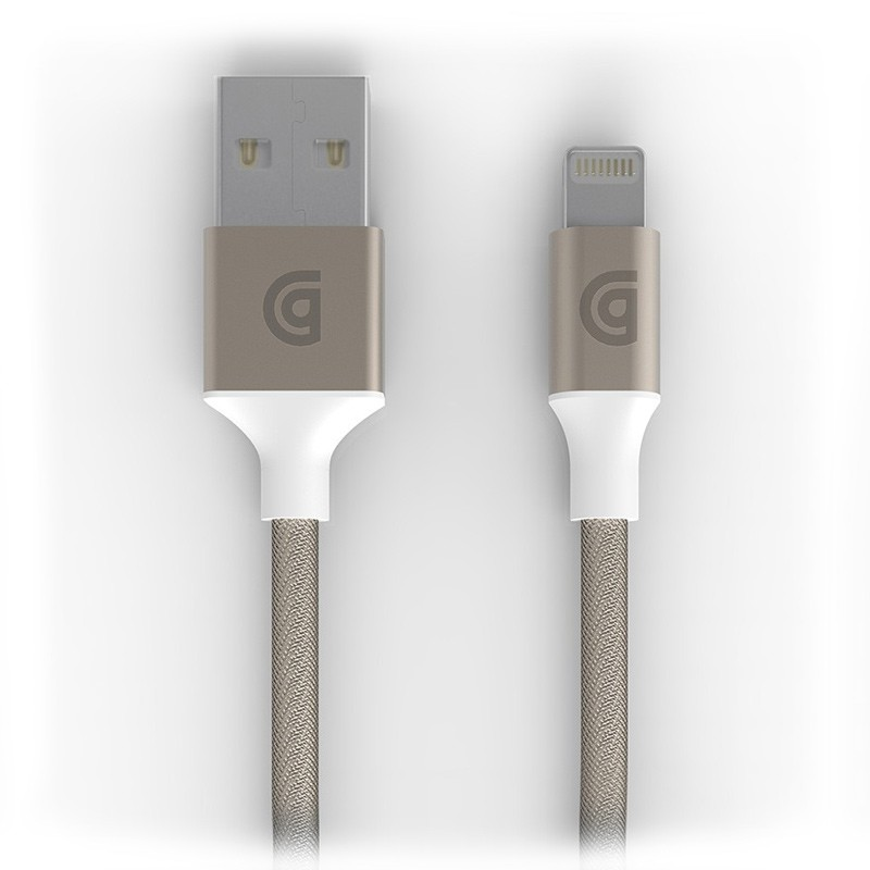 Griffin - Premium USB to Lightning Kabel 3 meter Gold 01