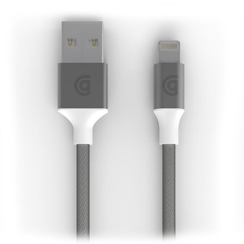 Griffin - Premium USB to Lightning Kabel 3 meter Silver 01