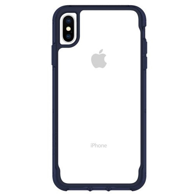 Griffin Survivor Clear iPhone XS Max Hoes Iris/Transparant 01