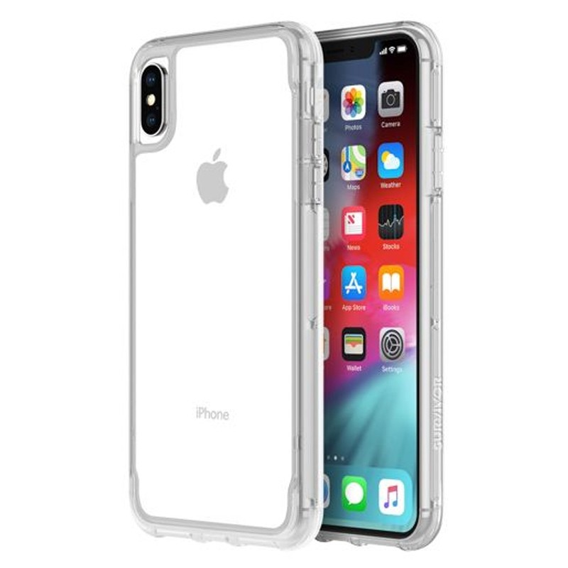 Griffin Survivor Clear iPhone XS Max Case Transparant 04