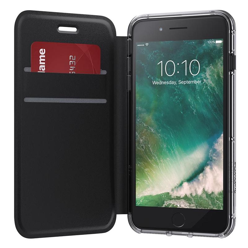 Griffin - Survivor Clear Wallet iPhone 8 Plus/7 Plus/6S Plus/6 Plus 01