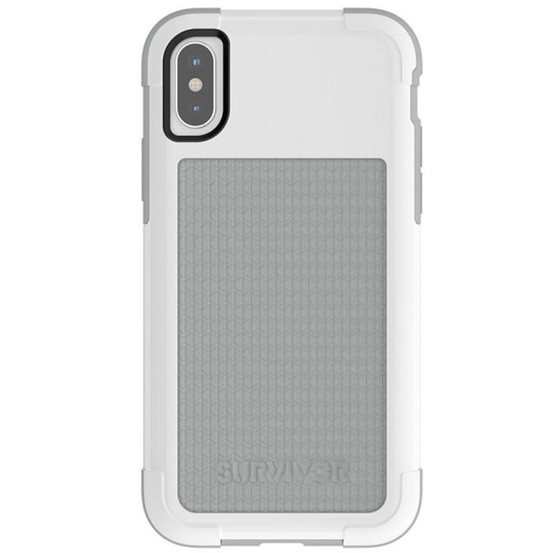 Griffin - Survivor Fit iPhone X/Xs Case Wit/Grijs 02