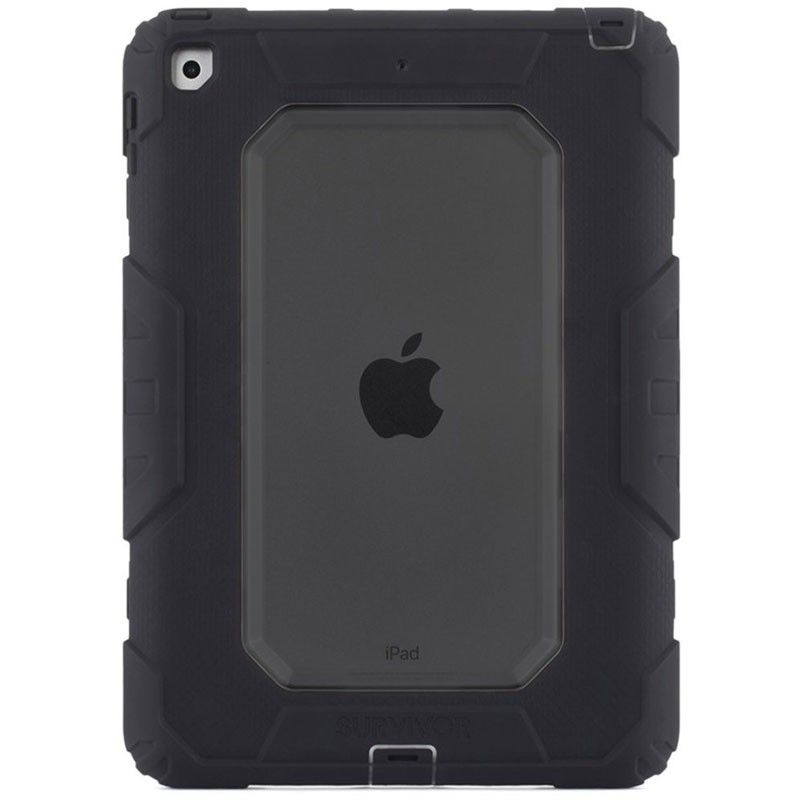 Griffin Survivor Extreme Case iPad 9,7 inch 2017 Zwart - 1a